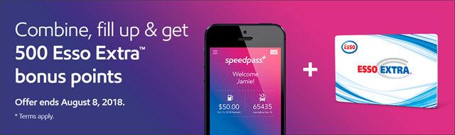 亲测Esso的Speedpass+ App和Amex Cobalt的Esso加油优惠– 悠酒世界
