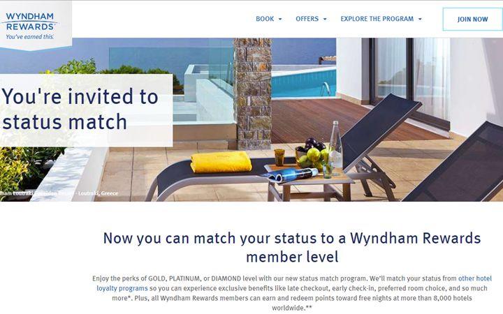 经验分享– 成功Status Match到温德姆钻石Wyndham Diamond的过程